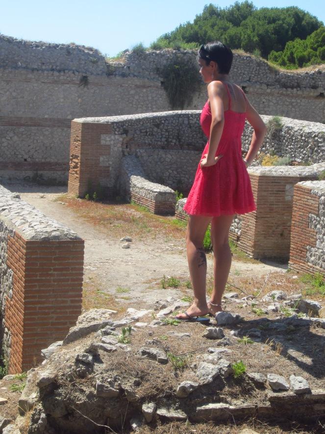 Roaming the ruins...