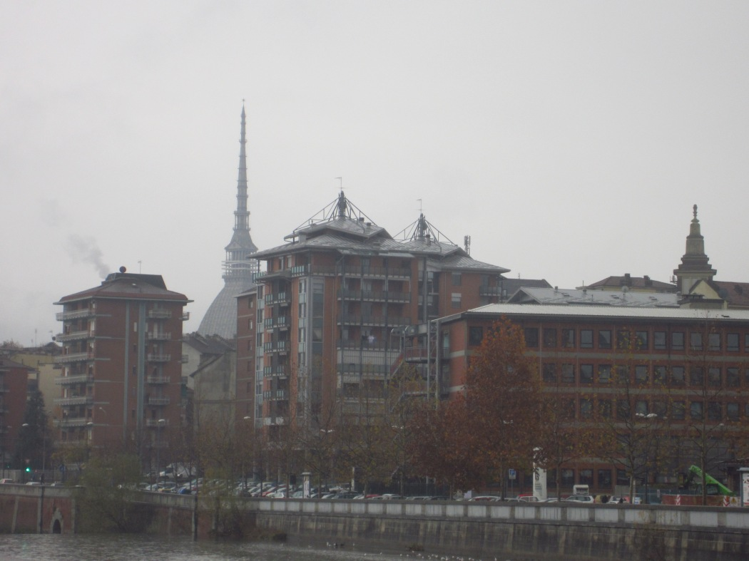 Cold and drizzly day in Torino