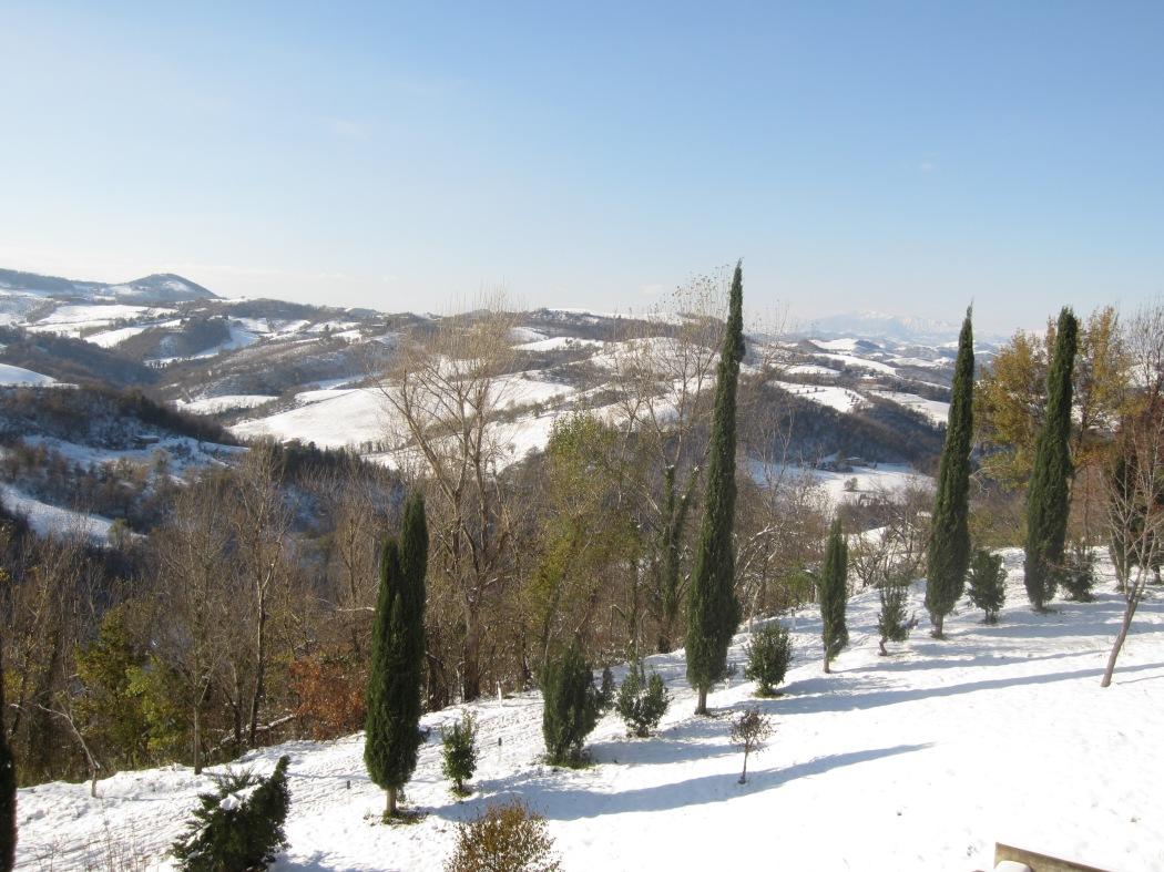 First Snowfall in Urbino