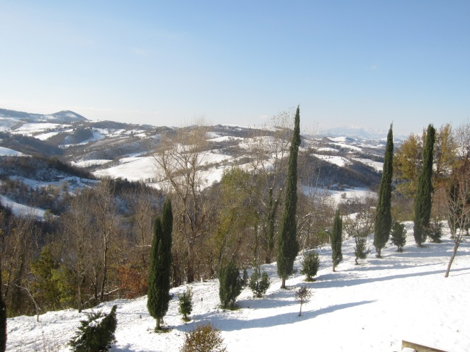 First Snowfall in Urbino